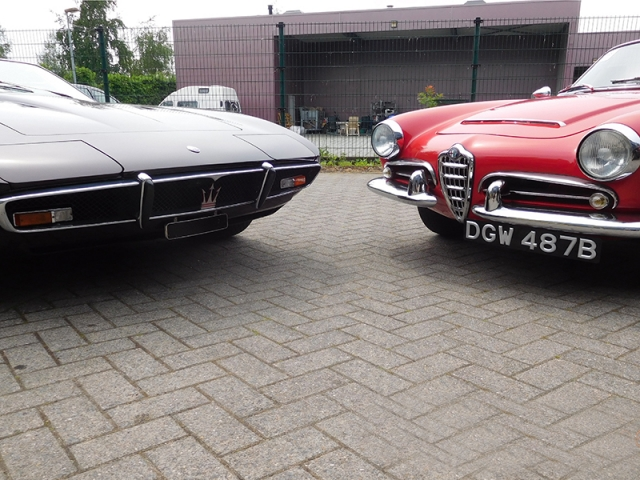 Alfa Giulietta Sprint & Maserati Ghibli