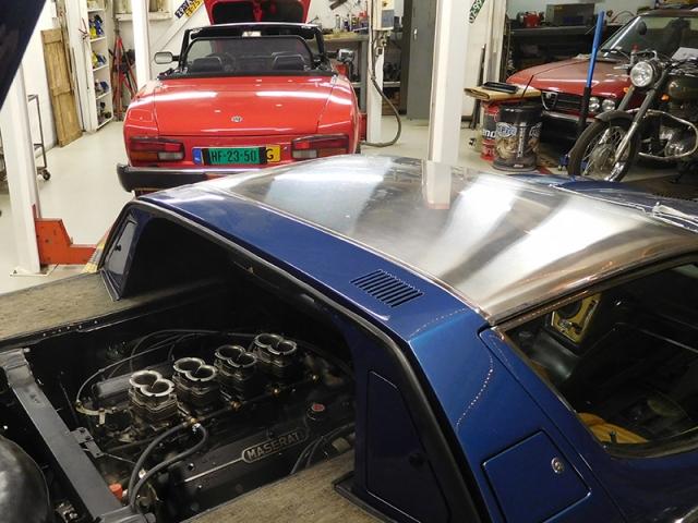 Pininfarina 124 & Maserati Bora